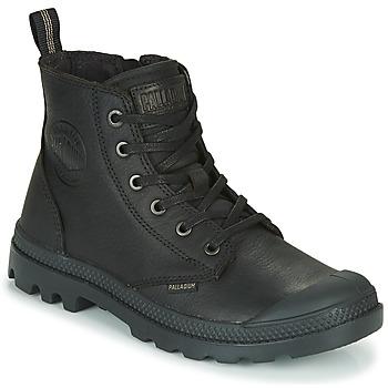 Pantofi Ghete Palladium PAMPA ZIP LTH ESS Negru
