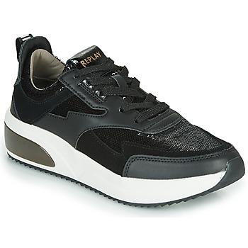 Pantofi Femei Pantofi sport Casual Replay FLOW CREATION Negru