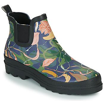 Pantofi Femei Cizme de cauciuc Sanita FELICIA WELLY Albastru