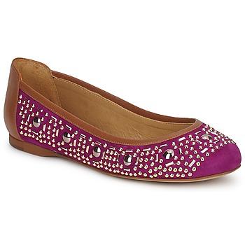 Pantofi Femei Balerin și Balerini cu curea Zinda ROMY Violet
