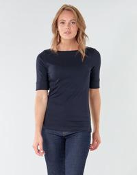 Îmbracaminte Femei Tricouri cu mânecă lungă  Lauren Ralph Lauren JUDY Bleumarin