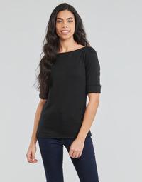 Îmbracaminte Femei Tricouri cu mânecă lungă  Lauren Ralph Lauren JUDY Negru