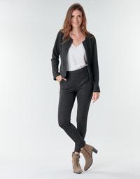 Îmbracaminte Femei Pantalon 5 buzunare Le Temps des Cerises BIEBER Negru