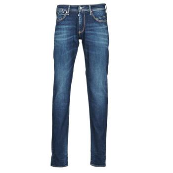 Îmbracaminte Bărbați Jeans drepti Le Temps des Cerises 812 BASIC Albastru