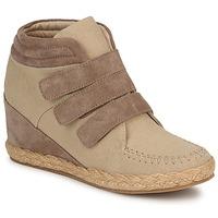 Pantofi Femei Pantofi sport stil gheata No Name SPLEEN STRAPS Bej / Taupe