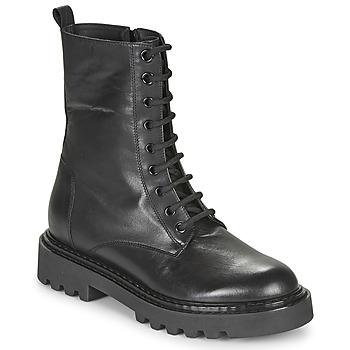 Pantofi Femei Ghete Tosca Blu SF2028S547-C99 Negru