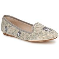 Pantofi Femei Mocasini House of Harlow 1960 ZENITH Bej / Gri