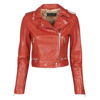 Îmbracaminte Femei Jachete din piele și material sintetic Oakwood KYOTO Roșu