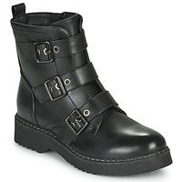 Pantofi Femei Ghete Spot on F51069 Negru