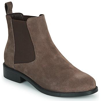 Pantofi Femei Ghete Spot on F50979 Maro