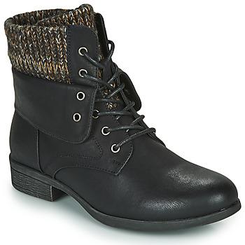 Pantofi Femei Ghete Spot on F50613 Negru