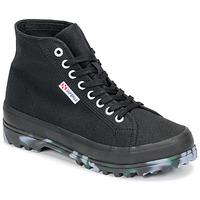 Pantofi Femei Pantofi sport stil gheata Superga 2341 ALPINA MARBLEGUM Negru