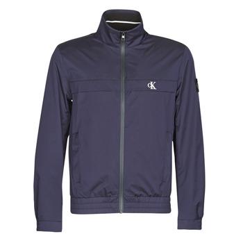 Îmbracaminte Bărbați Jachete Calvin Klein Jeans ZIP UP HARRINGTON Albastru