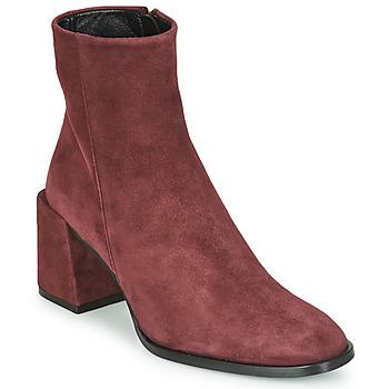 Pantofi Femei Botine Castaner IRIS Bordo