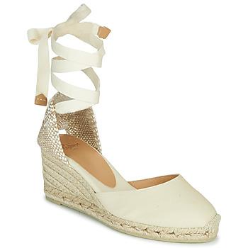 Pantofi Femei Sandale  Castaner CARINA Alb fildeș