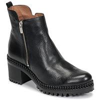 Pantofi Femei Botine Wonders H3924-VACHETA-NEGRO Negru