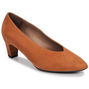 Pantofi Femei Pantofi cu toc Wonders I8401-ANTE-CAMEL Camel