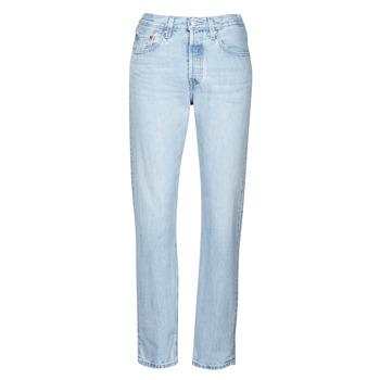 Îmbracaminte Femei Jeans boyfriend Levi's 501 CROP Luxor / Ra