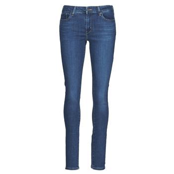 Îmbracaminte Femei Jeans skinny Levi's 711 SKINNY Albastru