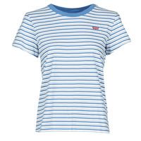 Îmbracaminte Femei Tricouri mânecă scurtă Levi's PERFECT TEE Albastru