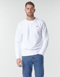 Îmbracaminte Bărbați Hanorace  Levi's NEW ORIGINAL CREW White
