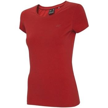 Îmbracaminte Femei Tricouri mânecă scurtă 4F NOSH4 TSD001 Roșii