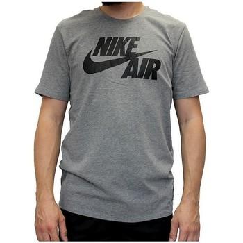Îmbracaminte Bărbați Tricouri mânecă scurtă Nike Air Tee Gri