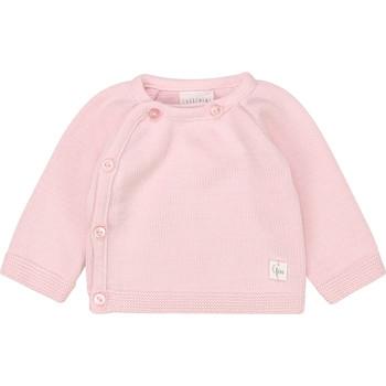 Îmbracaminte Fete Tricouri cu mânecă lungă  Carrément Beau Y95228 Roz