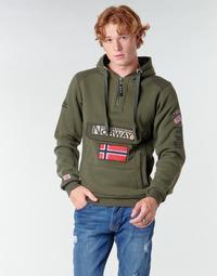 Îmbracaminte Bărbați Hanorace  Geographical Norway GYMCLASS Kaki