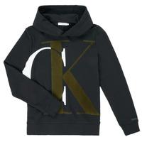 Îmbracaminte Băieți Hanorace  Calvin Klein Jeans IB0IB00628-BEH Negru