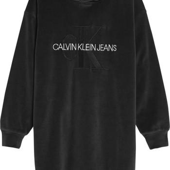 Îmbracaminte Fete Rochii scurte Calvin Klein Jeans IG0IG00711-BEH Negru