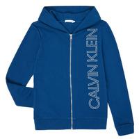 Îmbracaminte Băieți Hanorace  Calvin Klein Jeans IB0IB00668-C5G Albastru