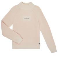 Îmbracaminte Fete Pulovere Calvin Klein Jeans IG0IG00680-PGB Gri