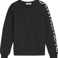 Îmbracaminte Fete Hanorace  Calvin Klein Jeans IG0IG00691-BEH Negru