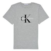 Îmbracaminte Copii Tricouri mânecă scurtă Calvin Klein Jeans MONOGRAM Gri