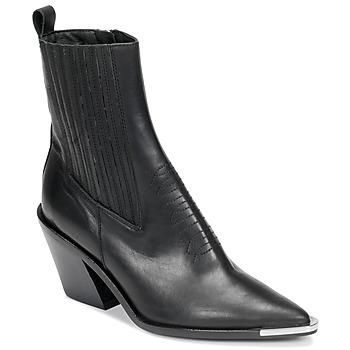 Pantofi Femei Botine Jonak BINGO Negru