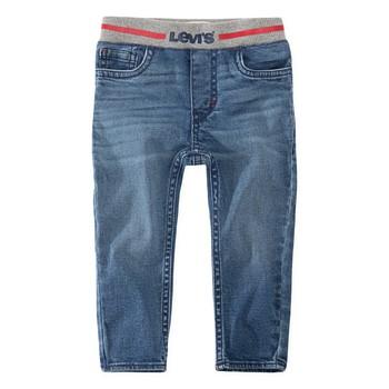 Îmbracaminte Băieți Jeans skinny Levi's PULL-ON SKINNY JEAN Albastru