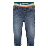 Îmbracaminte Fete Jeans skinny Levi's PULLON RAINBOW SKINNY JEAN albastru