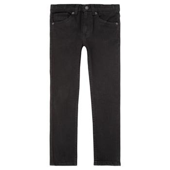 Îmbracaminte Băieți Jeans skinny Levi's 510 SKINNY FIT JEAN Negru
