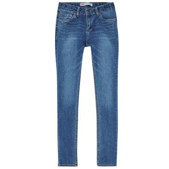 Îmbracaminte Băieți Jeans skinny Levi's SKINNY TAPER JEANS Albastru