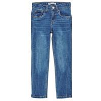 Îmbracaminte Băieți Jeans skinny Levi's 510 SKINNY FIT COZY JEAN Aerosmith