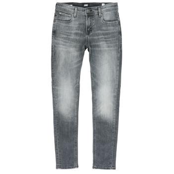 Îmbracaminte Băieți Jeans slim Jack & Jones JJILIAM Negru