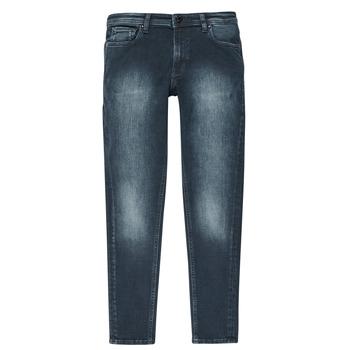 Îmbracaminte Băieți Jeans slim Jack & Jones JJILIAM Albastru