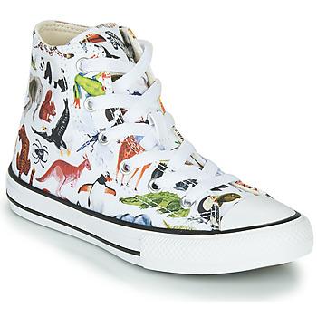 Pantofi Copii Pantofi sport stil gheata Converse Chuck Taylor All Star - Science Class Alb / Multicolor