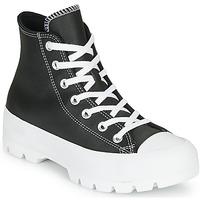 Pantofi Femei Pantofi sport stil gheata Converse CHUCK TAYLOR ALL STAR LUGGED - FOUNDATIONAL LEATHER Negru