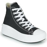 Pantofi Femei Pantofi sport stil gheata Converse Chuck Taylor All Star Move Canvas Color Hi Negru
