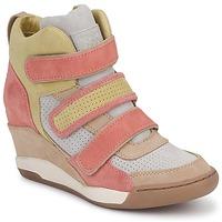 Pantofi Femei Pantofi sport stil gheata Ash ALEX Corai / Galben / Taupe