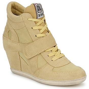 Pantofi Femei Pantofi sport stil gheata Ash BOWIE Galben / Pastel