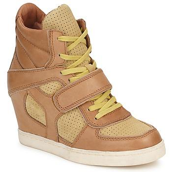 Pantofi Femei Pantofi sport stil gheata Ash COCA Maro / Galben
