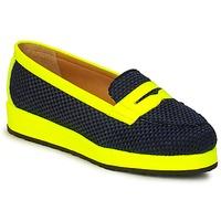Pantofi Femei Mocasini MySuelly VALENTINE Negru / Galben